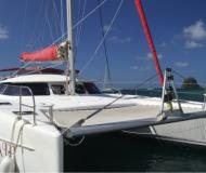 Katamaran Bahia 46 Yachtcharter in Marigot Bay Marina
