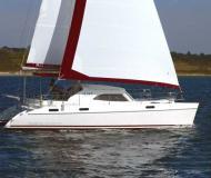 Kat Broadblue 385 in Bodrum Marina Milta chartern