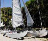 Catamaran Hobie Cat 16 for rent in Brenzone
