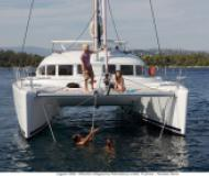 Cat Lagoon 380 for charter in Marina Lazaretta