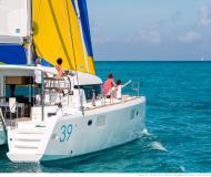 Catamaran Lagoon 39 available for charter in Marine Betina