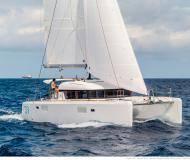Catamaran Lagoon 39 available for charter in Port Pin Rolland