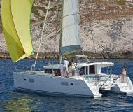 Cat Lagoon 400 available for charter in Marina di Punta Ala