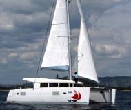 Catamaran Lagoon 400 for charter in Kos Marina