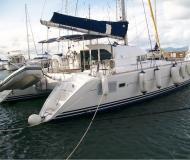 Cat Lagoon 410 S2 for hire in Marina Joyeria Relojeria