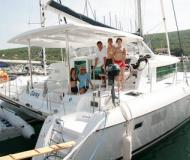 Catamaran Lagoon 420 for charter in Marina Punat