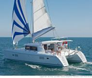 Catamaran Lagoon 421 for charter in Sant Antoni de Portmany
