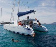 Catamaran Lagoon 500 for hire in Goecek