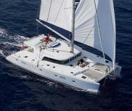 Catamaran Lagoon 500 available for charter in Marina di Arechi