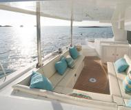 Cat Lagoon 500 available for charter in Bonifacio Marina