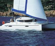 Cat Lavezzi 40 for rent in Porto Koufo Harbour