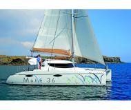Katamaran Mahe 36 Evolution chartern in Ece Saray Marina