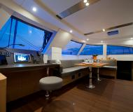 Cat Nautitech 542 available for charter in Denia