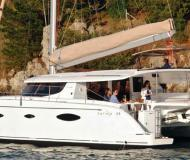 Cat Salina 48 for charter in Marina di Portisco