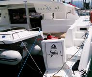 Catamaran Salina 48 for hire in Marina Mindelo