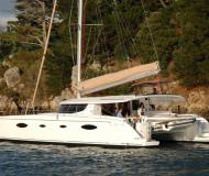 Cat Salina 48 for hire in Marine Betina