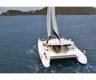 Catamaran Voyage 520 available for charter in Sopers Hole Marina