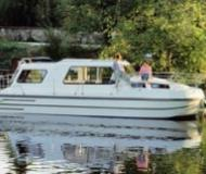 Riviera 920 Houseboat for rent Les Laumes (France)