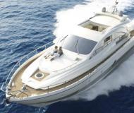 Motorboat Aicon 72 for rent in Marina Villa Igiea