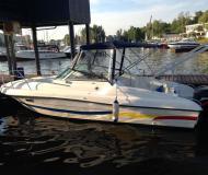 Motorboot Ambassador 26 Yachtcharter in Dolgoprudny Marina