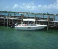 Motorboat C.D.M. Whitecaps 22 available for charter in Marsh Harbour City