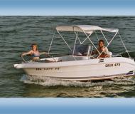 Chartern Motorboot Galia 475 Yachthafen Hagnau