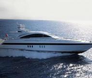 Mangusta 80 Motoryacht Charter Neapel