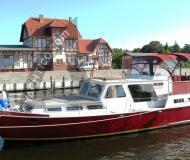 Motorboot mit 2 Kabinen in Stralsund chartern