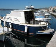 Motoryacht Sibenik 800 Yachtcharter in ACI Marina Trogir