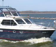 Motoryacht Veha 35 for hire in Port Barth