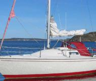 Sailing yacht Albin 78 available for charter in Sabyvikens Marina