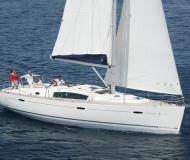 Sailing yacht Oceanis 43 available for charter in Pirita Marina