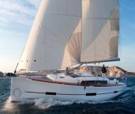 Sailing boat Dufour 382 Grand Large available for charter in Alimos Marina Kalamaki