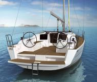 Sailing yacht Dufour 382 Grand Large for rent in Horta Marina