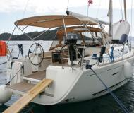 Yacht Dufour 405 available for charter in Port Goecek Marina