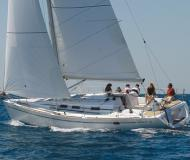 Yacht Elan 40 for hire in Krvavica