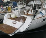 Segelyacht Elan 45 Impression chartern in Marina Tankerkomerc