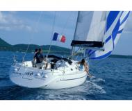 Sail boat Harmony 38 available for charter in Port Louis Marina