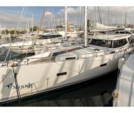 Sailing boat Moody 45 DS for hire in Alimos Marina Kalamaki