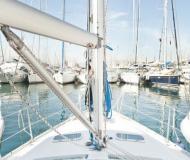 Segelboot Oceanis 343 Yachtcharter in Skiathos Haupthafen