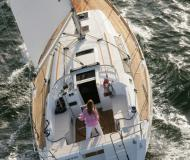 Sailing boat Oceanis 37 available for charter in Procida Marina