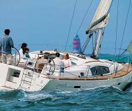 Sailing yacht Oceanis 40 for rent in Port Goecek Marina