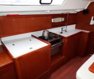 Sailing boat Oceanis 40 available for charter in Castries