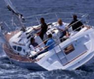 Sun Odyssey 35 Segelboot Charter Poros