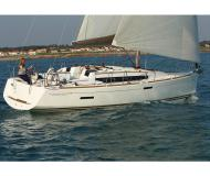 Yacht Sun Odyssey 379 available for charter in Baie Sainte Anne