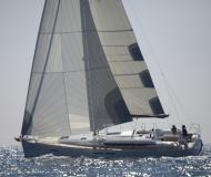 Sail boat Sun Odyssey 439 for hire in Volos Harbour