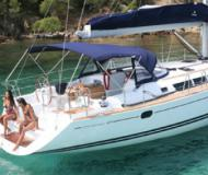 Yacht Sun Odyssey 49i for hire in Edil Nautica Marina
