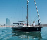 Sailing yacht Sun Odyssey 54 DS for charter in Port Olimpic Marina