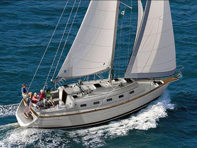Island Packet 370 Segelyacht Charter Red Hook