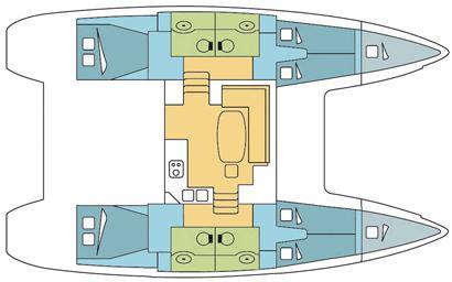 Catamaran Lagoon 400 available for charter in Wickhams Cay II-25631-0